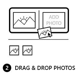 Drag and drop photos