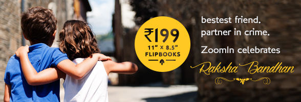 Rs. 199 Flipbook - Celebrate your Siblings at ZoomIn.
