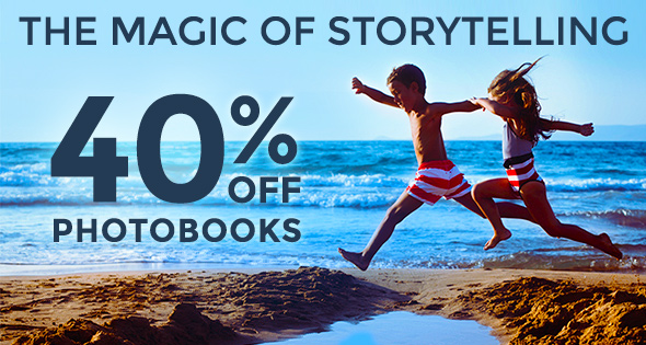 40% Off All Photobooks