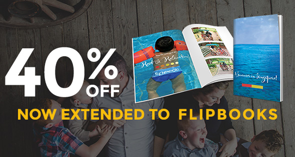 40% Off All Flipbooks