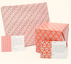 Gift wraps and Gift cards