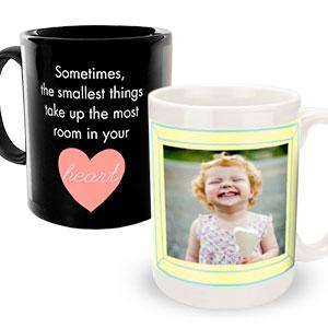 BABY THEMED PHOTO COFFEE MUGS