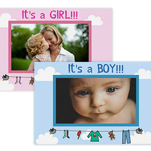 BABY THEMED PHOTO MAGNETS