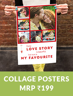 COLLAGE POSTERS MRP RS.199