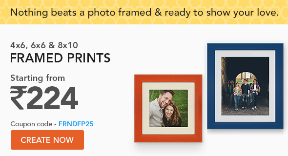 4x6, 6x6 & 8x10 Framed Prints - coupon code - FRNDFP25