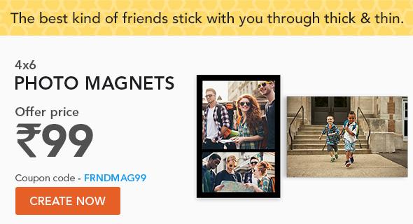 4x6 Magnets - coupon code - FRNDMAG99