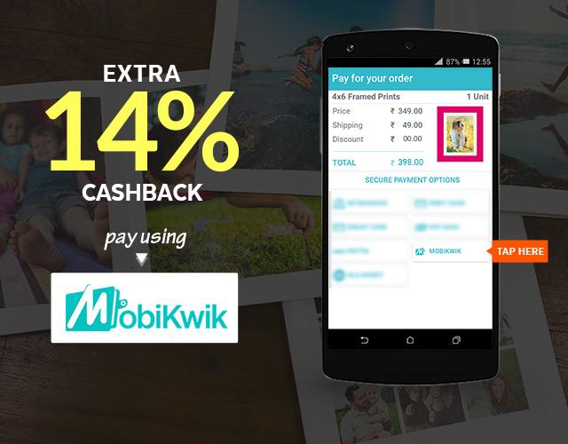Mobikwik Offer - 14% Cashback