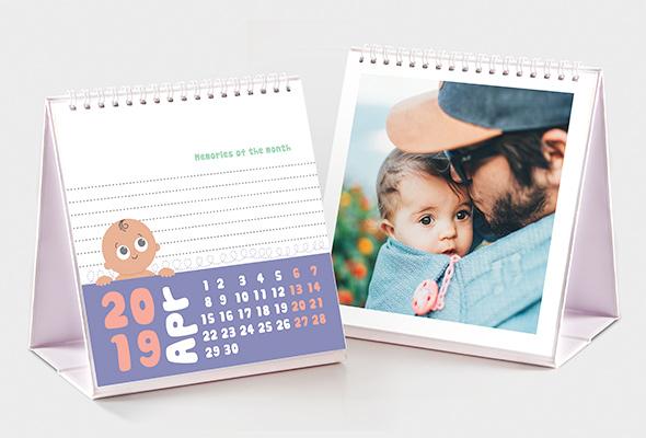 Baby Themed Photo Calendar